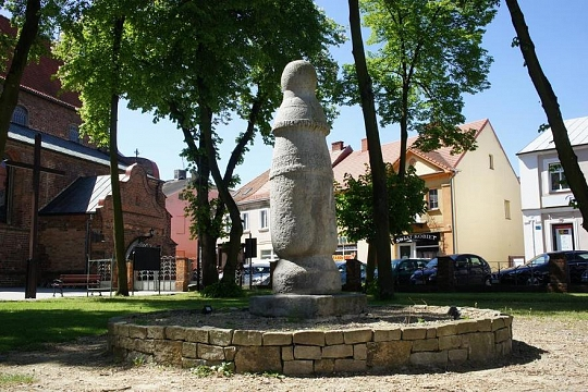A roman road Pole in Konin